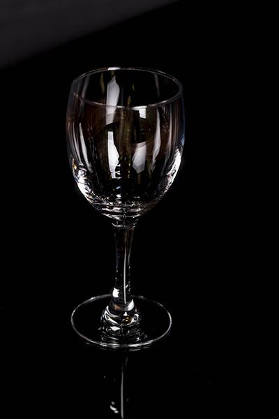 Calice vino bianco vetro