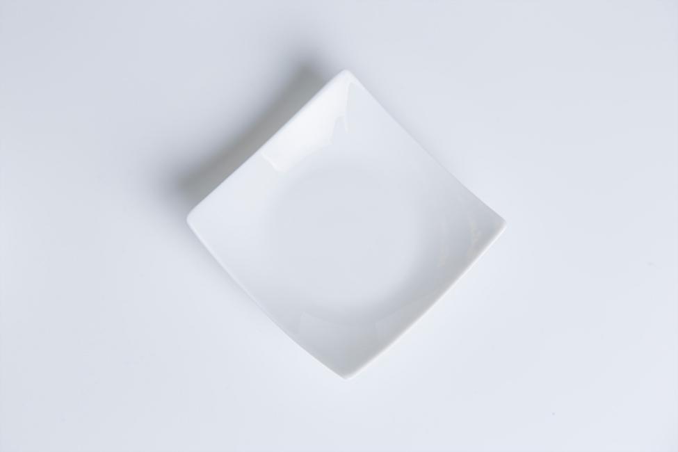 Piattino quadrato
