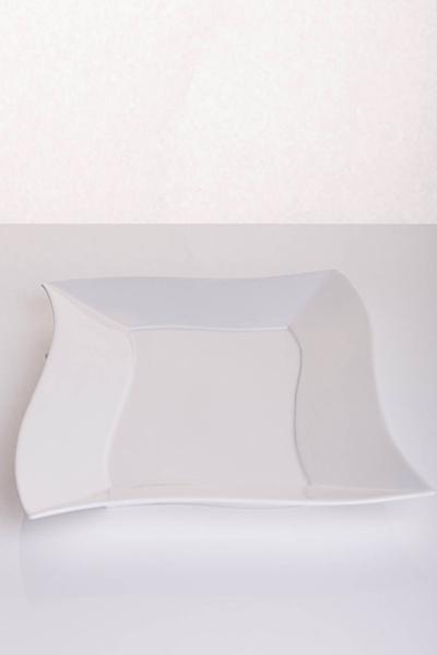 Piatto buffet fazzoletto rettangolare