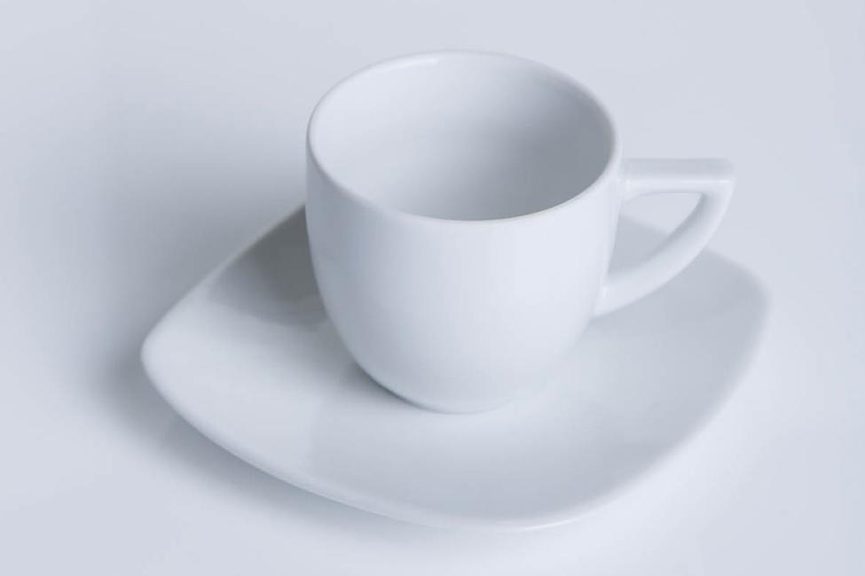 Tazza da caffè quadrata