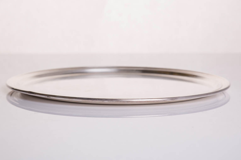 Vassoio argento tondo